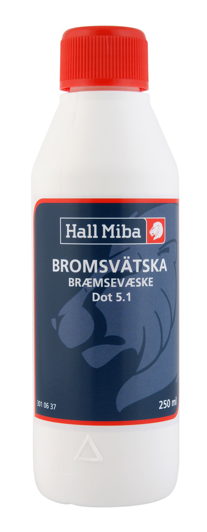 Bromsvätska DOT 5.1, 250 ml