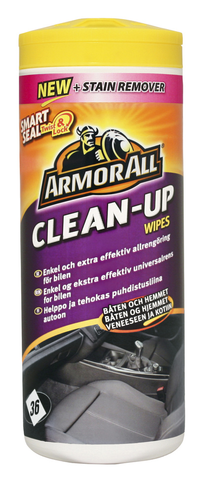 Allrengöring Clean Up Wipes 36-p