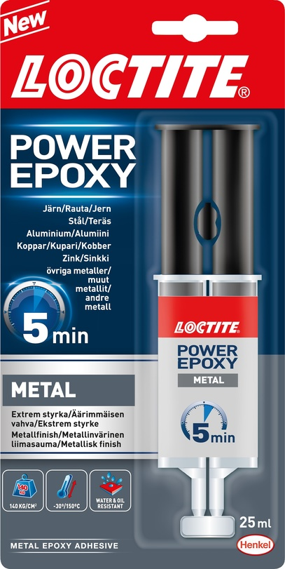 Lim Power Epoxy Metall & stål 25 ml