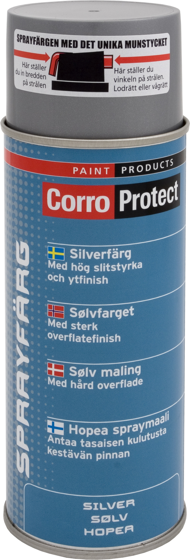 Sprayfärg silver 400 ml