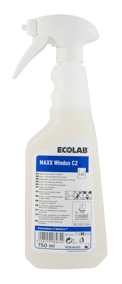 Glasputs Maxx Windus C2, 750 ml