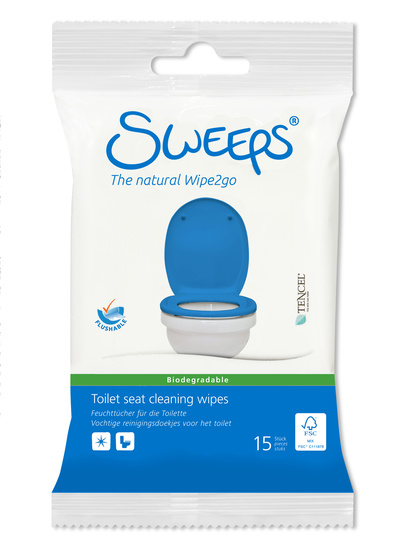 Wipes Toilet Seat Cleaning 15 st