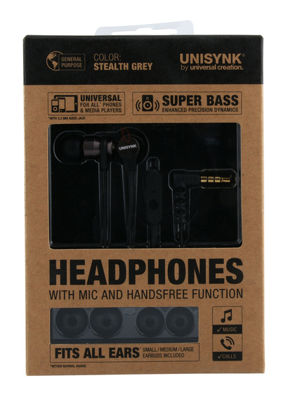 Headphones Stealth Grey