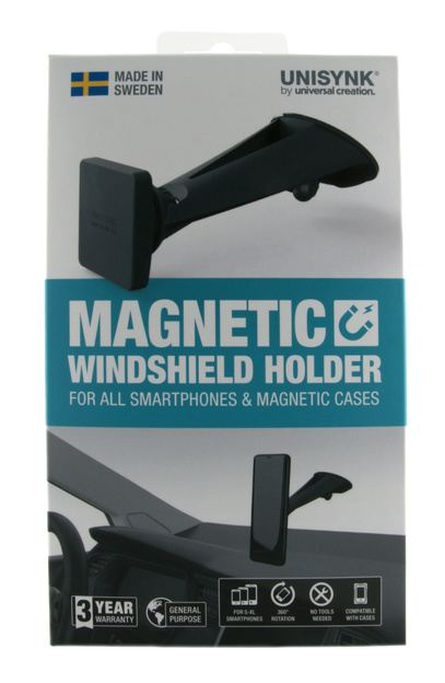 Mobilhållare Magnetic Windshield
