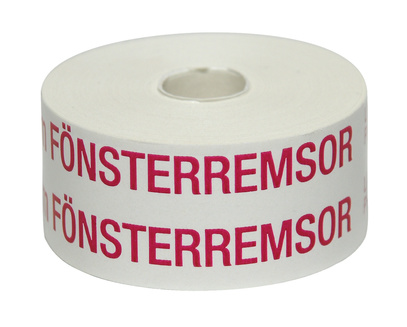 Fönsterremsa vit 25 m 25 mm