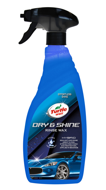 Wax Dry & Shine Rinse 750 ml