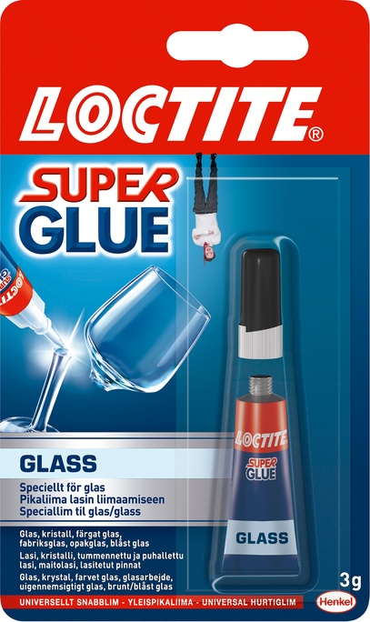 Lim Super Glue Glas