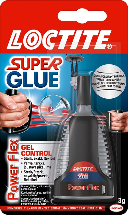 Lim Super Glue Flex Gel Control 3 g