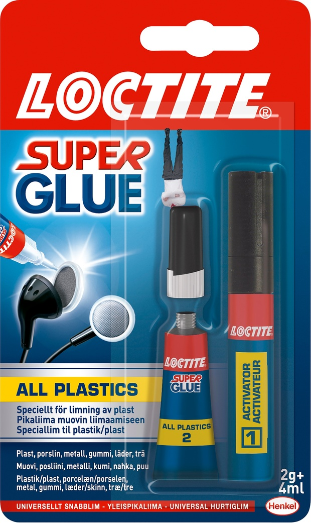 Lim Super Glue All Plastic