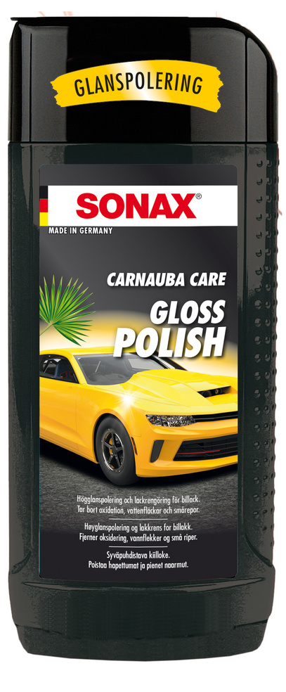 Polish gloss Carnauba 500 ml