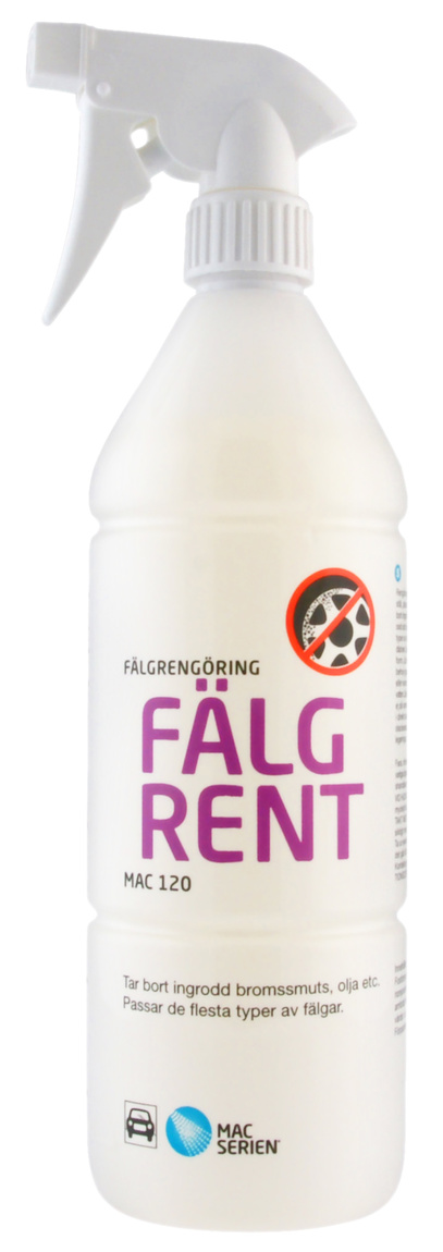 Fälgrent pump 1 liter MAC 120