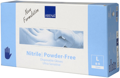 Nitrilhandske Ultra Sensitive L 100 st