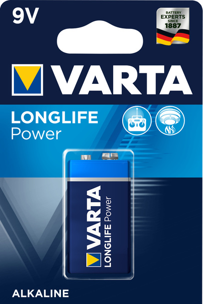 Batteri Longlife Power 6LR61 9V 4922-1, 1-p