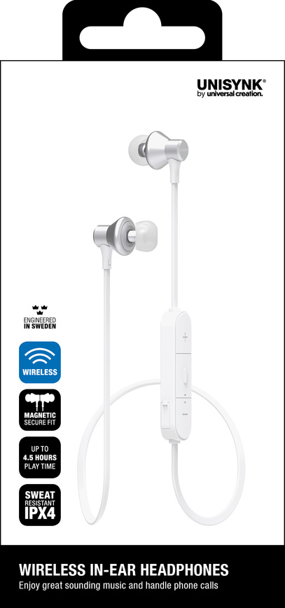 Headphones Bluetooth In-ear Vit