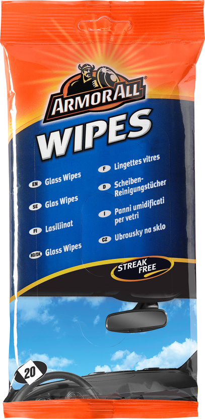 Fönsterputs Glass Wipes 20-p