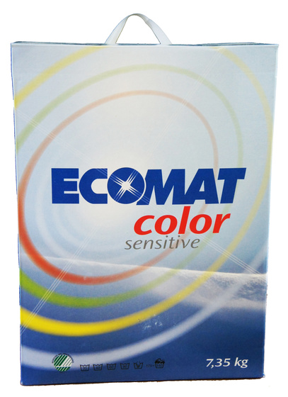 Tvättpulver Ecomat Color Sensitive 7,35 kg