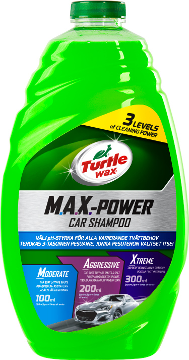 Bilschampo Max Power 1,42 lit